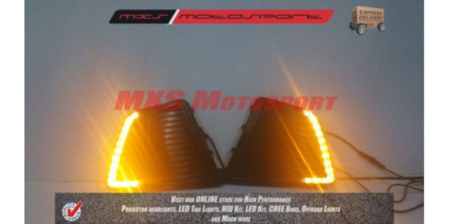 MXS1915 LED Fog Lamps Day Time running Light for Hyundai Creta 2015