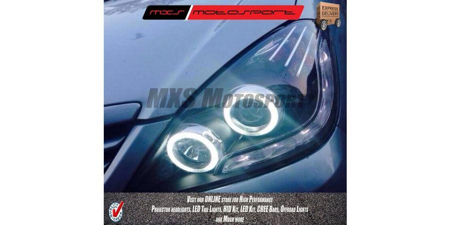 MXSHL66 Toyota Innova Projector Headlights Audi style Day running light old Model