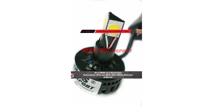 MXS1879 LED Headlight Bulb White HIGH LOW Beam like HID MXS 3