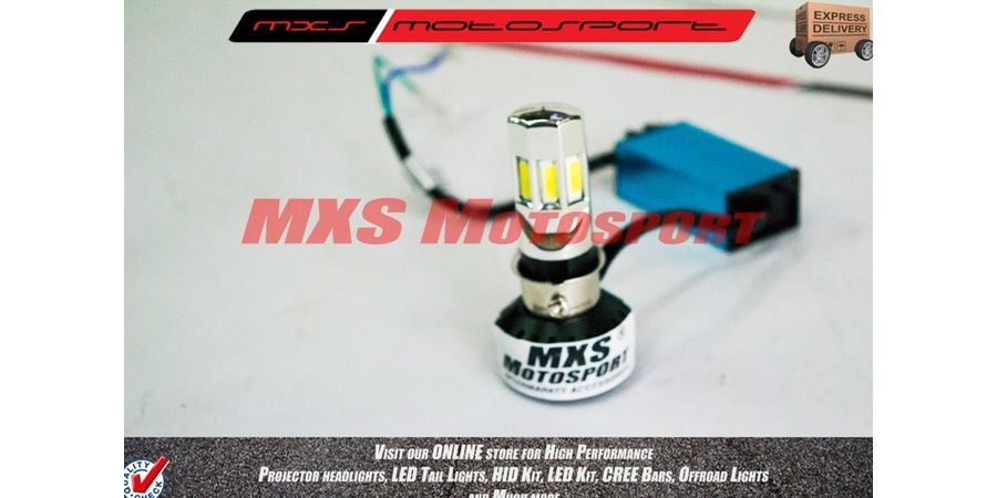 MXS1877  LED Headlight Bulb White HIGH LOW Beam like HID MXS 6