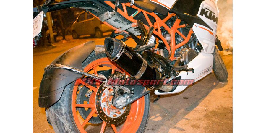 MXS2395 Tech Hardy Exhaust Muffler silencer KTM RC 390
