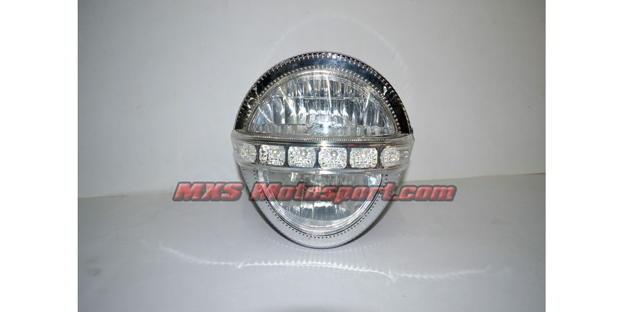 MXSHL419 Naked Monster Led Headlight Motorcycle