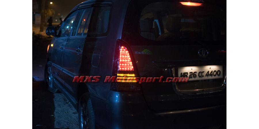 MXSTL93 LED Tail Lights Toyota Innova New Version Smoked Black