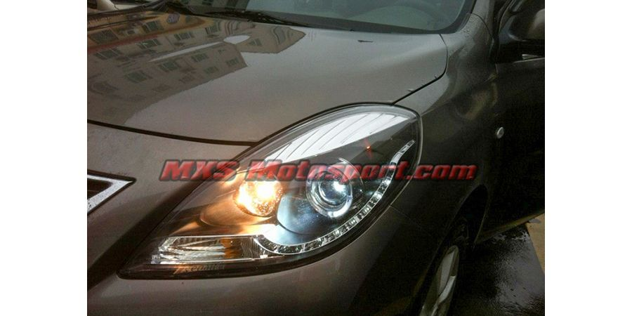 MXSHL62 Nissan Sunny Projector Headlights With Day Time Running Light