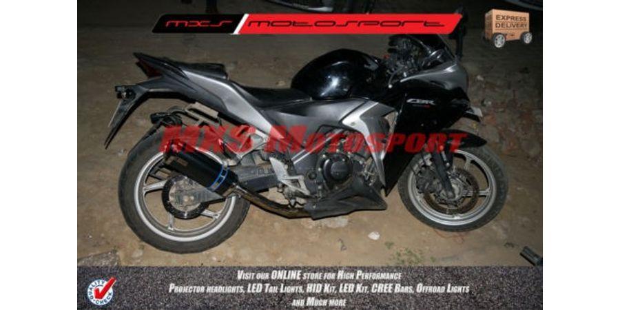 MXS051 Tech Hardy Honda CBR250R & CBR150R Exhaust muffler silencer