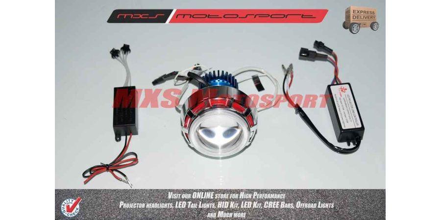 Hero Motocorp SPLENDOR PRO (BLACK ALLOYS) Robotic XFR CREE Projector Headlamps