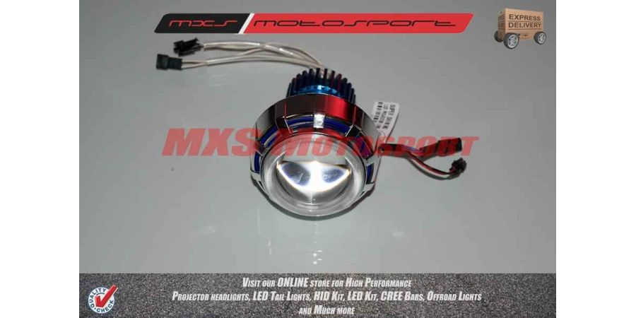 TVS Wego Robotic XFR CREE Projector Headlamps