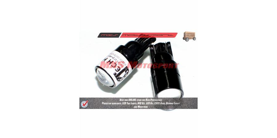 Tech Hardy T10 CREE LED Projector Long Range Parking Bulbs  For Piaggio Vespa Elegante