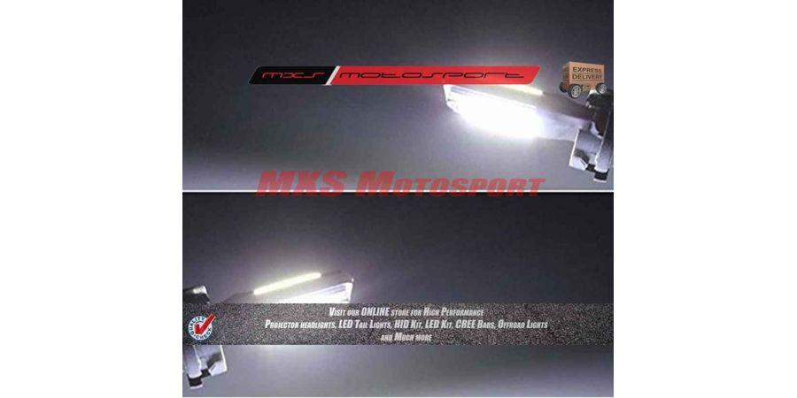 Tech Hardy T10 COB LED Lamps White CANBUS Parking Bulbs For Bajaj Pulsar 135Ls