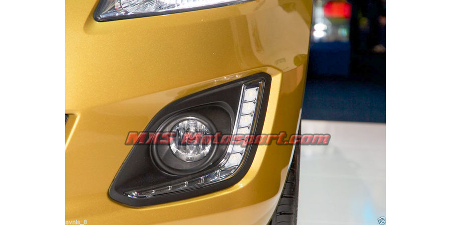 MXS1914 LED Fog Lamps Day Time running Light for Maruti Suzuki Swift 2015