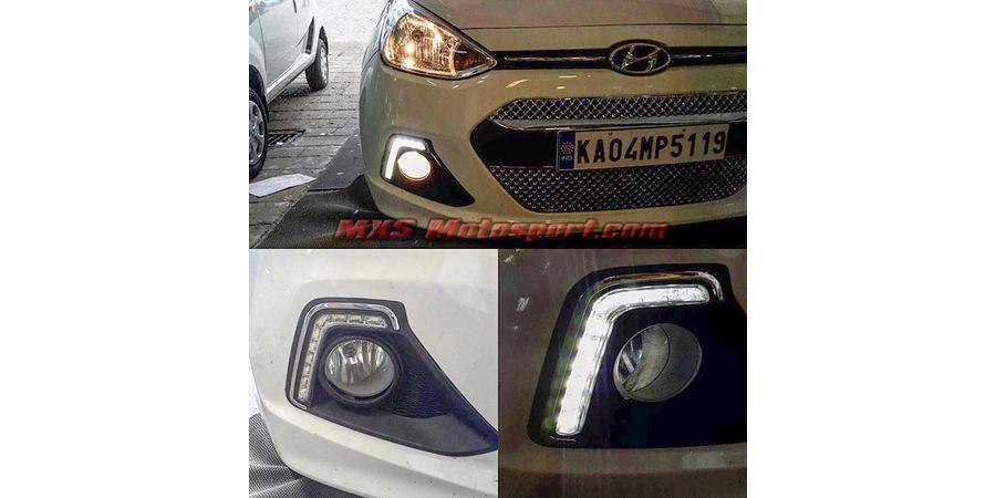 MXS2208 LED Fog Lamps Day Time running Light Hyundai Grand i10