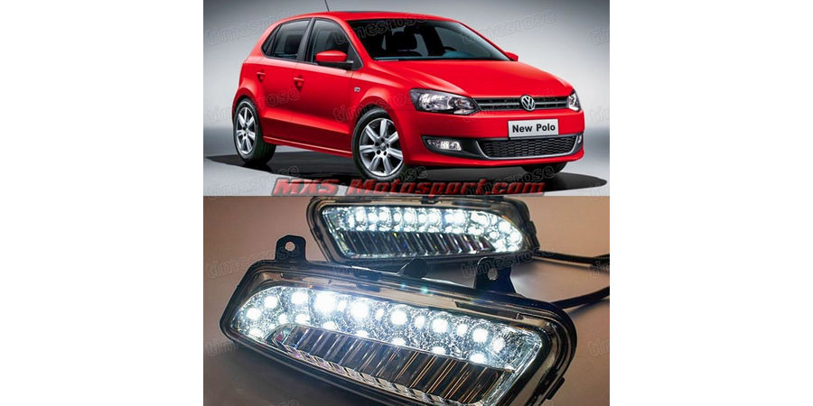 MXS2229 LED Fog Lamps Day Time Running Light Volkswagen Polo