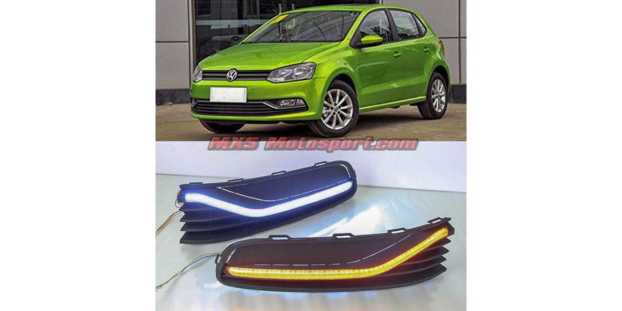 MXS2361 LED Fog Lamps Day Time Running Light Volkswagen Polo