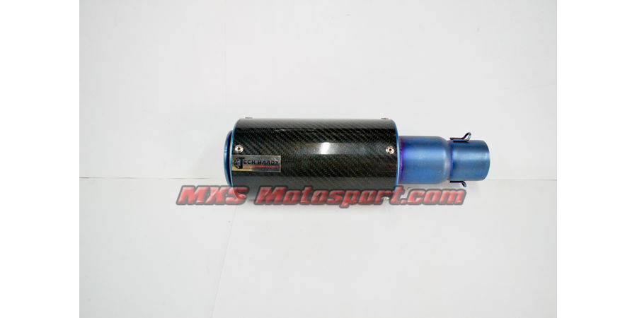 MXS2409 Tech Hardy Titanium Carbon Stage - 1 Racing  Exhaust muffler silencer Motorcycle