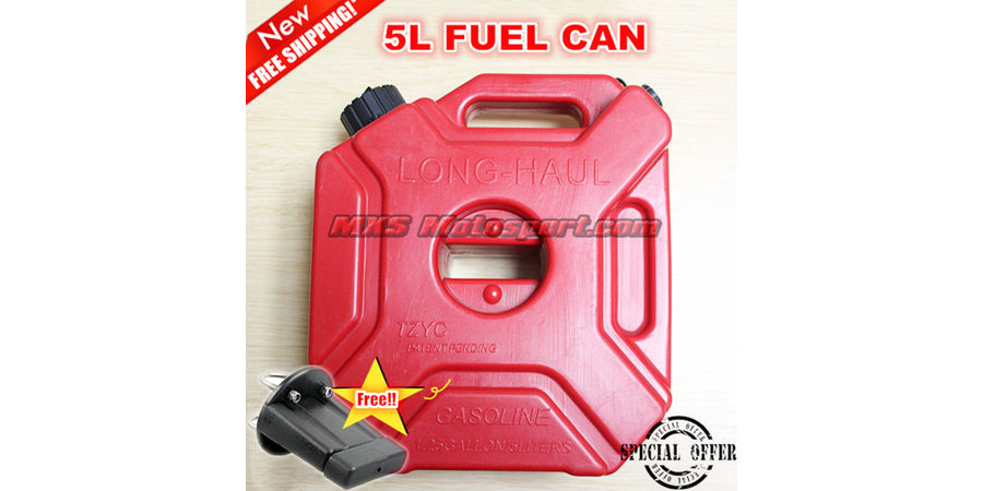 MXS2437 Jerry Can 5Ltr Plastic For Motor Bike
