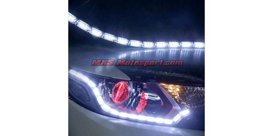 MXS2464 Audi-Style White-Amber DRL Daytime Running Light with Matrix Mode For Car