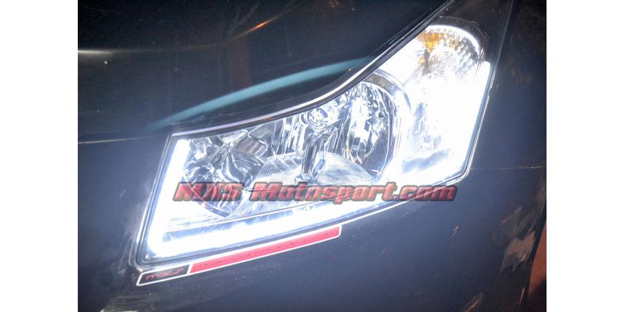 MXS2477 Audi-Style White-Amber DRL Daytime Running Light Chevrolet Cruze