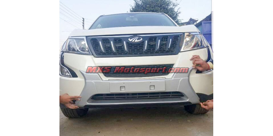 MXS2493 Front and Rear Diffuser Mahindra XUV 500