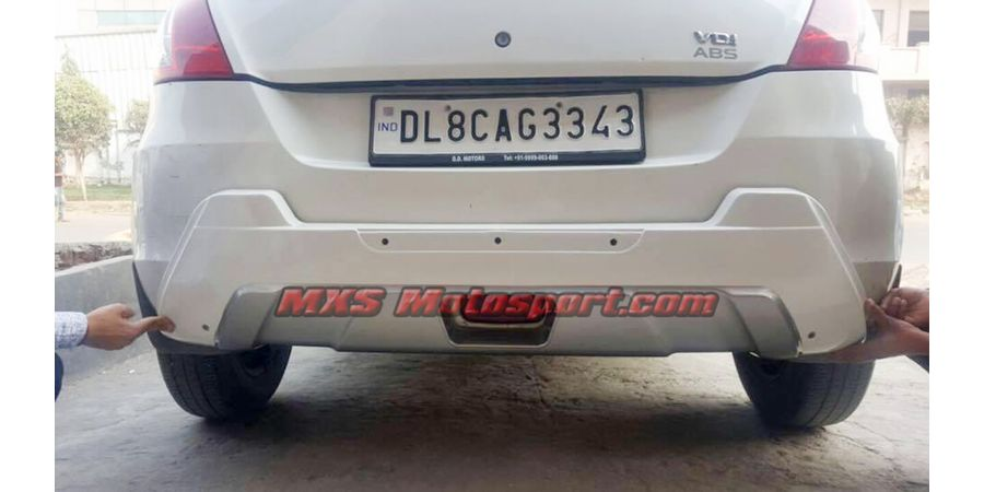 MXS2495 Front and Rear Diffuser Maruti Swift