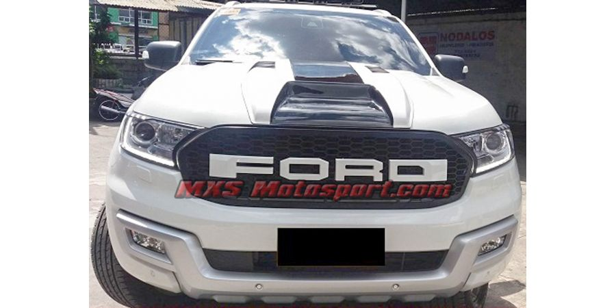 MXS2501 Raptor Style Front Grill Ford Endeavour Everest 2016-2017
