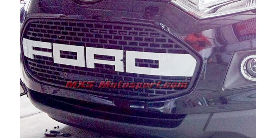 MXS2509 Raptor Style Front Grill Ford EcoSport