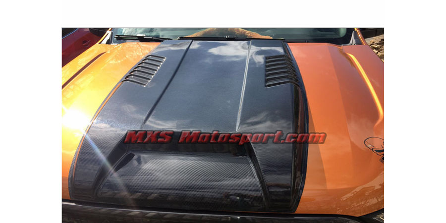 MXS2510 Carbon Bonnet Scoop Ford Endeavour Everest 2016-2017