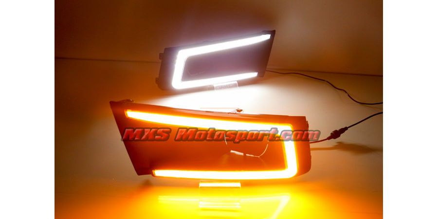 MXS2518 LED Fog Lamps Day Time Running Lights Maruti Vitara Brezza