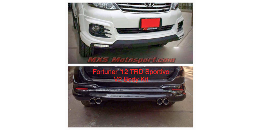 MXS2522 TRD Racing Body Kit Toyota Fortuner 2009-2014