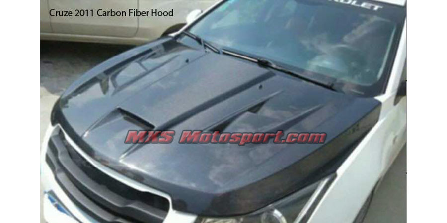 MXS2535 Chevrolet Cruse 2011 Carbon Fiber Bonnet Hood