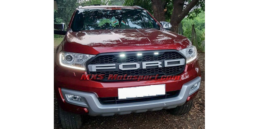 MXS2548 Raptor Style Front Led Grill Ford Endeavour Everest 2015 +