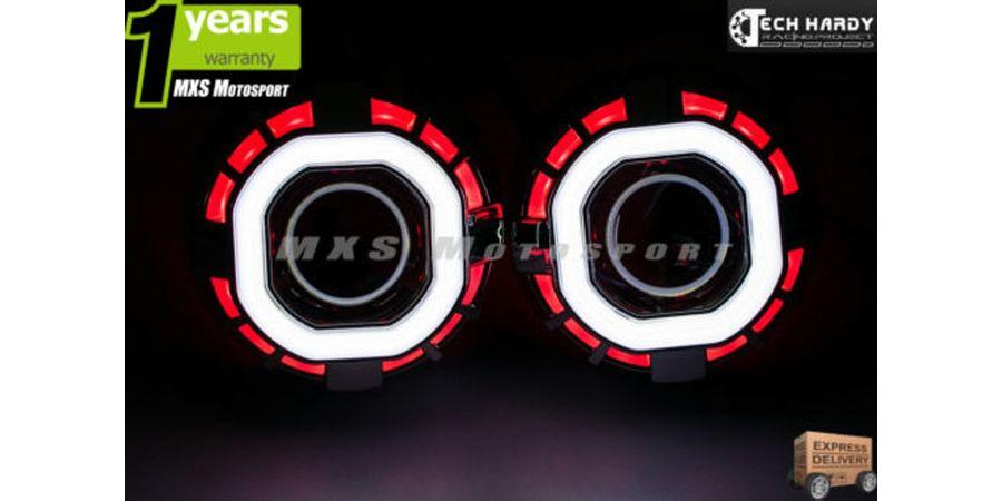 MXS798 Chevrolet Tavera Headlight HID BI-XENON Robotic Eye Projector