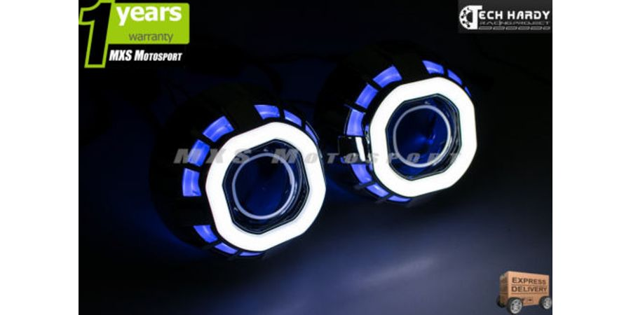 Hyundai Verna Fluidic Headlight HID BI-XENON Robotic Eye Projector