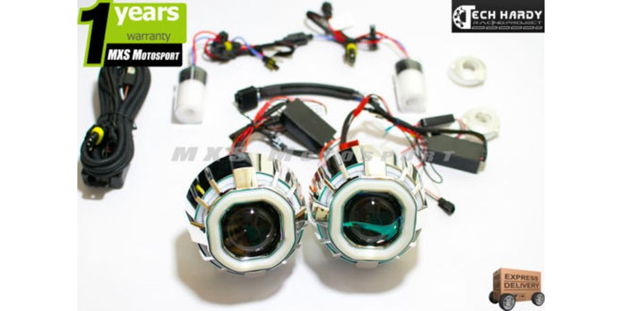 Honda Amaze Headlight HID BI-XENON Robotic Eye Projector