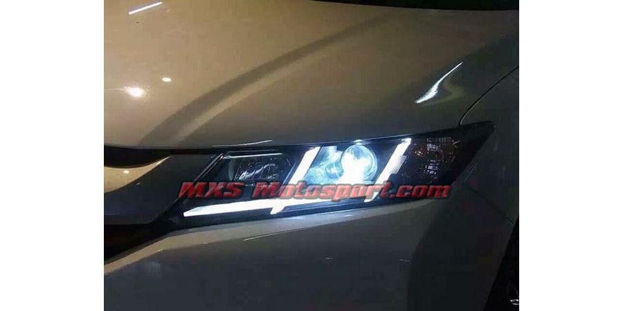 MXSHL10 Motosport Honda City i-Dtec New2014+ Projectors Headlights Day Running Light