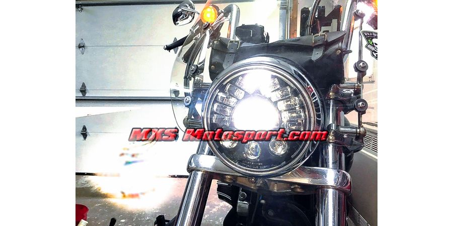 MXSHL424 Tech Hardy Stage  2 Led Adaptive Headlight Harley Davidson Motorcycle