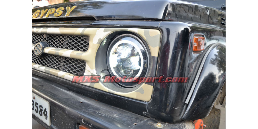 MXSHL435 Tech Hardy Racing Project Bullseye Projector Headlights Maruti Gypsy