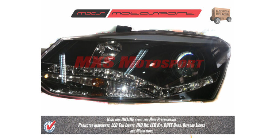 MXSHL45 Motosport Projector Headlight Volkswagen Vento