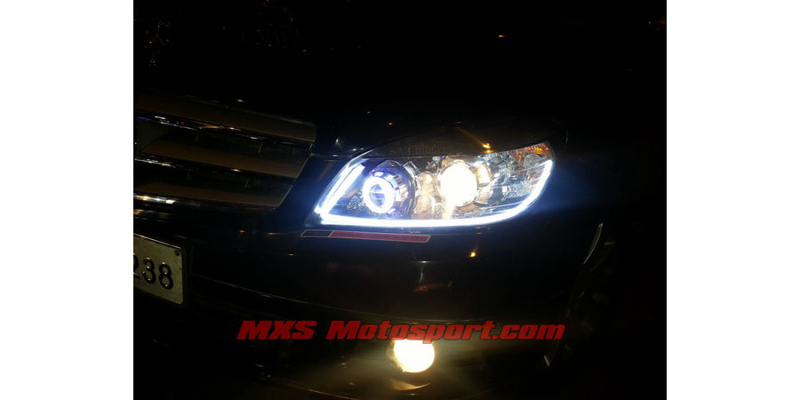 Mxshl455 modified dual projector headlights mercedes benz for Mercedes benz projector lights
