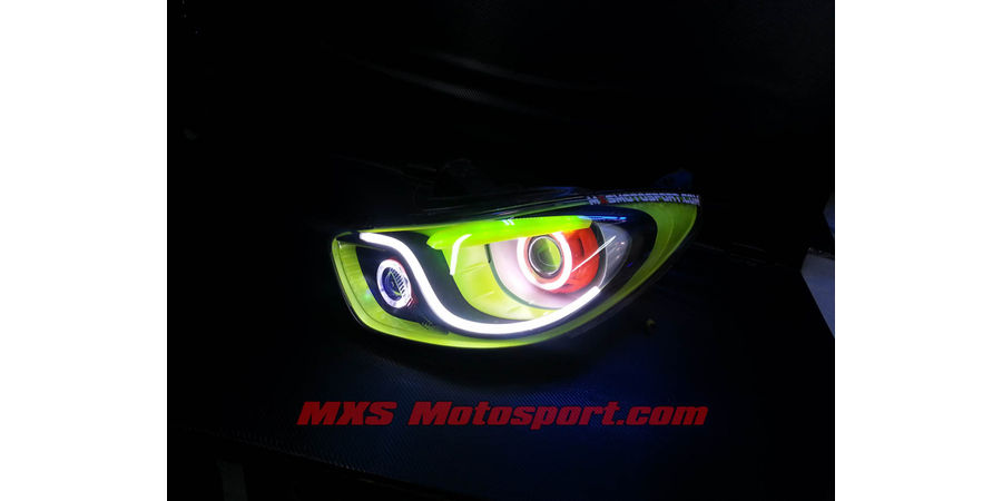 MXSHL459 Custom Design Dual Projector Headlights Hyundai i10