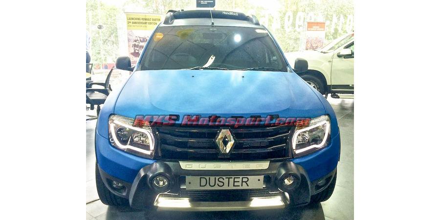 MXSHL46 Renault Duster Headlights audi style Day running light & Projector