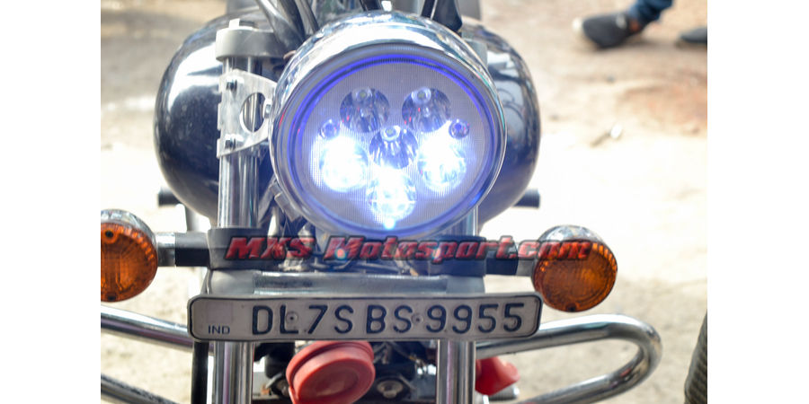 MXSHL486 Naked Monster Led Headlight Bajaj Avenger Motorcycle