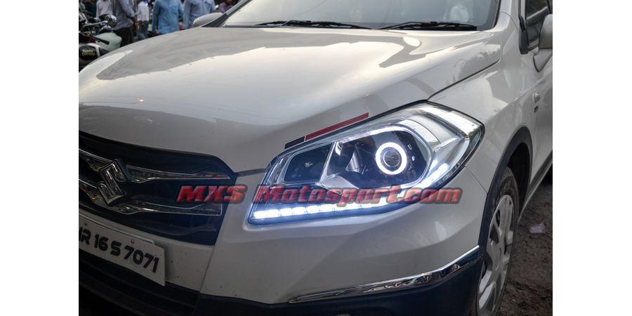 MXSHL491 Projector Headlights Maruti Suzuki S Cross with Matrix Style