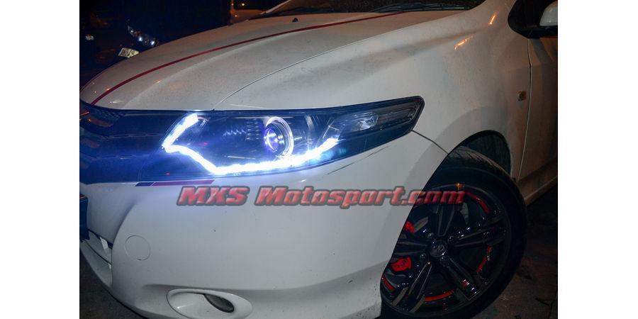 MXSHL505 Projector Headlights Honda City ivtec with Matrix Style