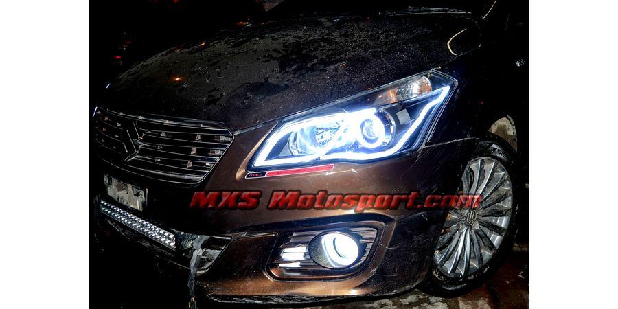 MXS2544 Maruti Suzuki Ciaz LED Fog Lamps Daytime Running Light