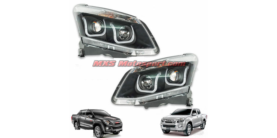 MXSHL515 ISUZU D-Max V-Cross Projector Headlights