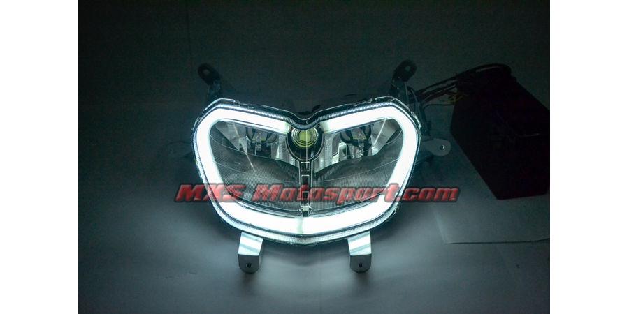 MXSHL520 Aprilia SR 150 Led Headlight with Daytime Running Light