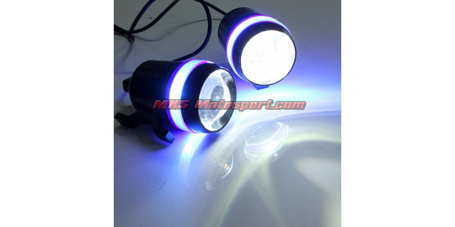 MXSORL140 Cree LED Flasher Fog Lamp LED Projector Motorcycle