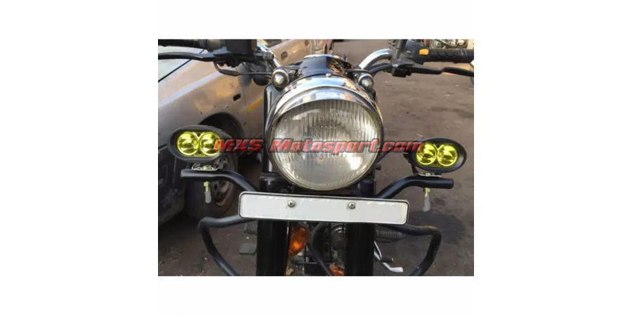 MXSORL151 LED Cree Bar Off Road Lights Royal Enfield Bullet