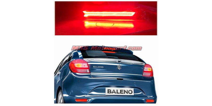 MXSTL112  Maruti Suzuki Baleno Rear Bumper Reflector DRL LED Tail Lights