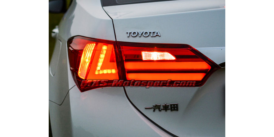 MXSTL36 LED Tail Lights Toyota Corolla Altis 2015